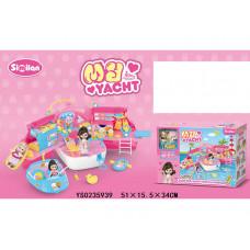 Игровой набор 078QL Яхта с куклой в кор 0235939YS