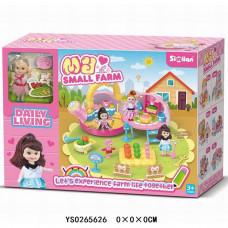 Игровой набор 079QL Любимая дача с куклой в кор. 0265626YS
