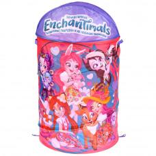 Корзина для игрушек Играем вместе Enchantimals XDP-17921-R