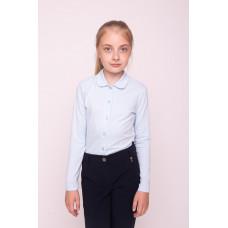 Блузка для девочки с длинным рукавом 0003_ШК21
