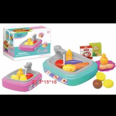 Игровой набор Кухонная мойка с водой QC-1B