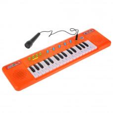 Электропианино УМка 40 песен караоке с микрофоном B1439819-R (48)
