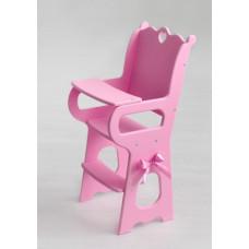 Diamond princess Стульчик для кормления с мягким сидением розовый