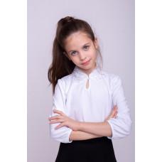 Блузка для девочки 0008_ШК21