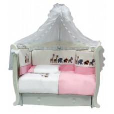 Комплект BIMBO GARDEN 7 предметов - Розовый