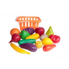 Игровой набор Фрукты и овощи в корзине У758