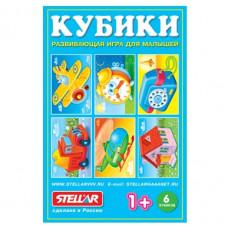 Кубики 6шт. В картинках №22 (Стел) 822 /32