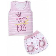 Комплект нижнего белья для девочки Little Boss LBG005