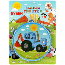 Бубен Играем вместе Синий трактор 1811M181-R5