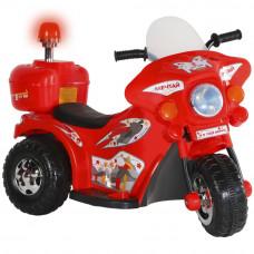 Мотоцикл на аккум.6V4AH*1, 1 мотор, пер./зад. свет, звук, 82*52*37 см., Цвет - красный TR991RD