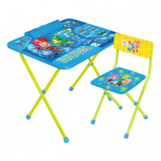 Детский комплект мебели Фиксики Ф2А