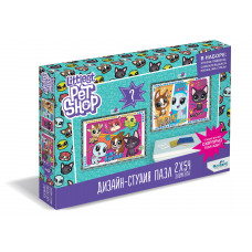 Littlest Pet Shop.Дизайн-студия.Диптих 2х54.Всегда вместе!. +сюрприз.04422