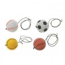 Мяч мягкий Спорт на резинке 3479534