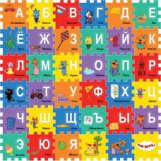 Играем вместе Коврик-пазл Три Кота  с вырезанными буквами FS-ABC-3CATS
