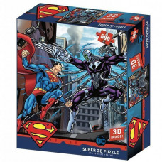 32522 Пазл Super 3D «Супермен против Брейниака», 500 детал., 6+