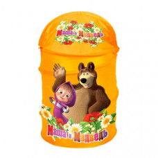 Корзина для игрушек Играем вместе Маша и Медведь XDP-1792-R