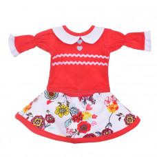 Одежда  для кукол Блуза с юбкой 102