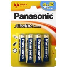 Батарейка Panasonic  LR6 Alkaline
