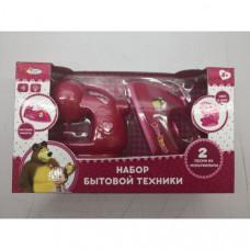 Набор бытовой техники Играем вместе Маша и Медведь B1603363-R