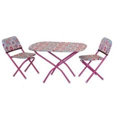 Столик со стульями для кукол
