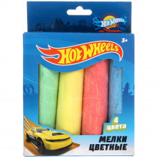 Мелки цветные MultiArt Hot Wheels 100MEL4-HW