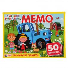 Карточная игра мемо УМка Синий трактор 4680013719982