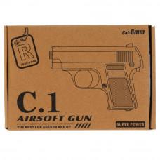 Пистолет металлический 1B00260