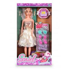 Кукла в бежевом платье 91003-A